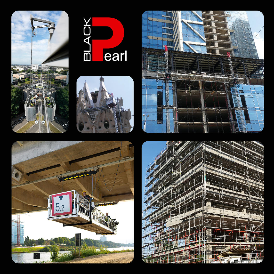 Scaffolding & Electric platforms | Black Pearl ltd
