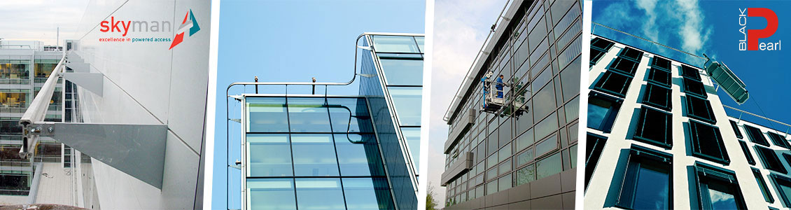 Solutions for glass facades maintenance