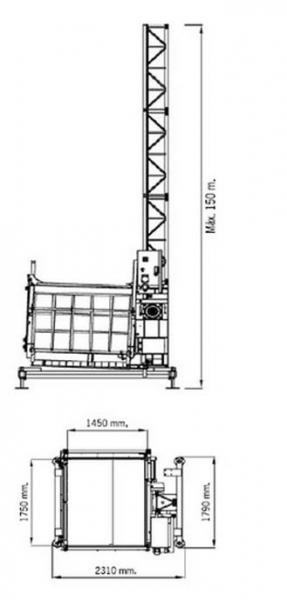 ECP-1000/150 схема