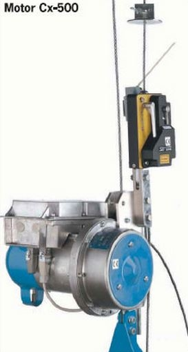 Suspended acces System Motors Cx-500