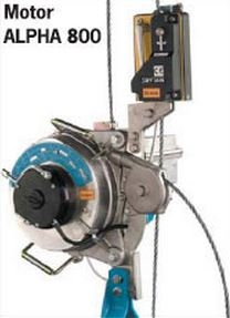 Suspended acces System Motors ALPHA 800
