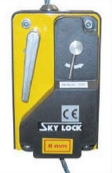 Suspended acces System Security Sky Lock