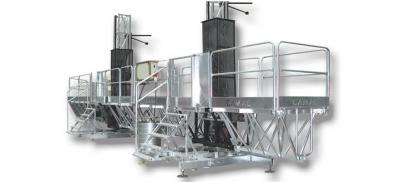 Mast climbing platforms CAMAC 3000